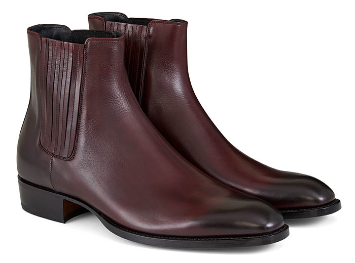 Handmade Leather Gusset Chelsea Boots