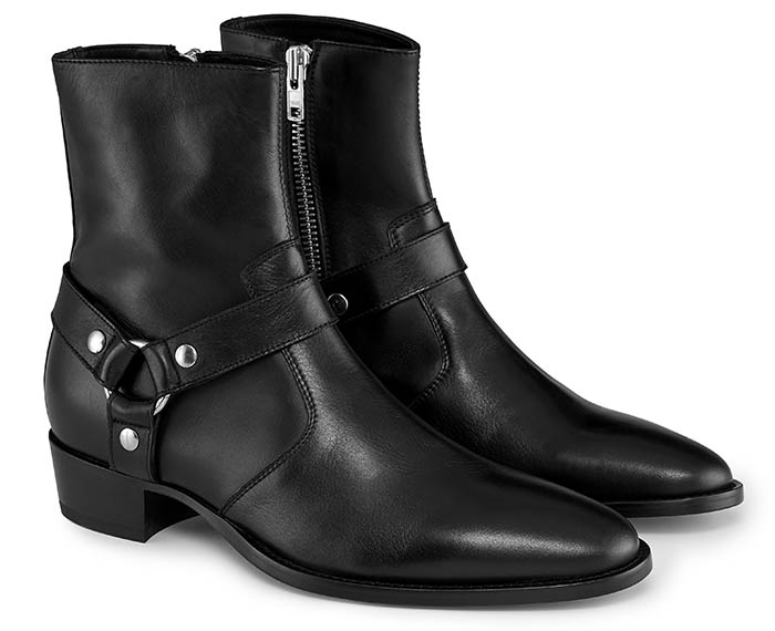 Italian Harness Leather Boots